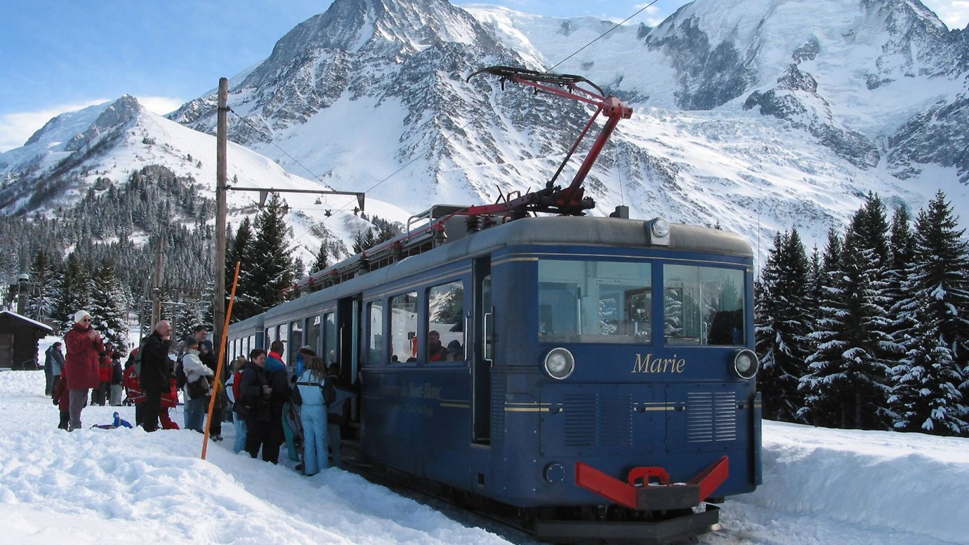 Mont-Blanc Tramway : all about it