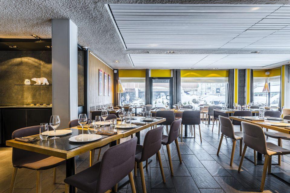 Chamonix restaurant Comptoir des Alpes