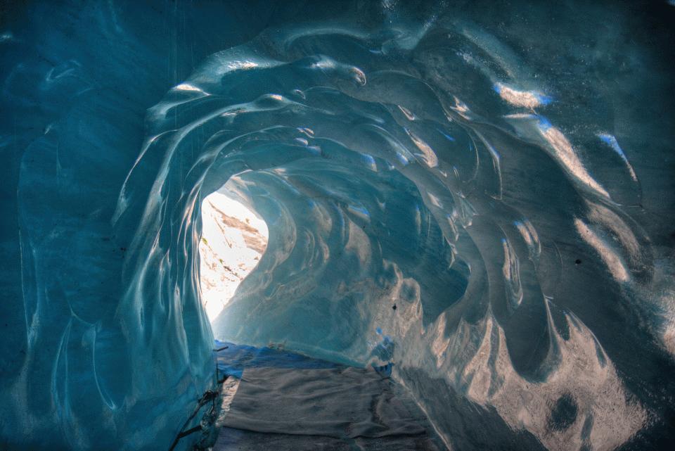 Grotte Glace Chamonix