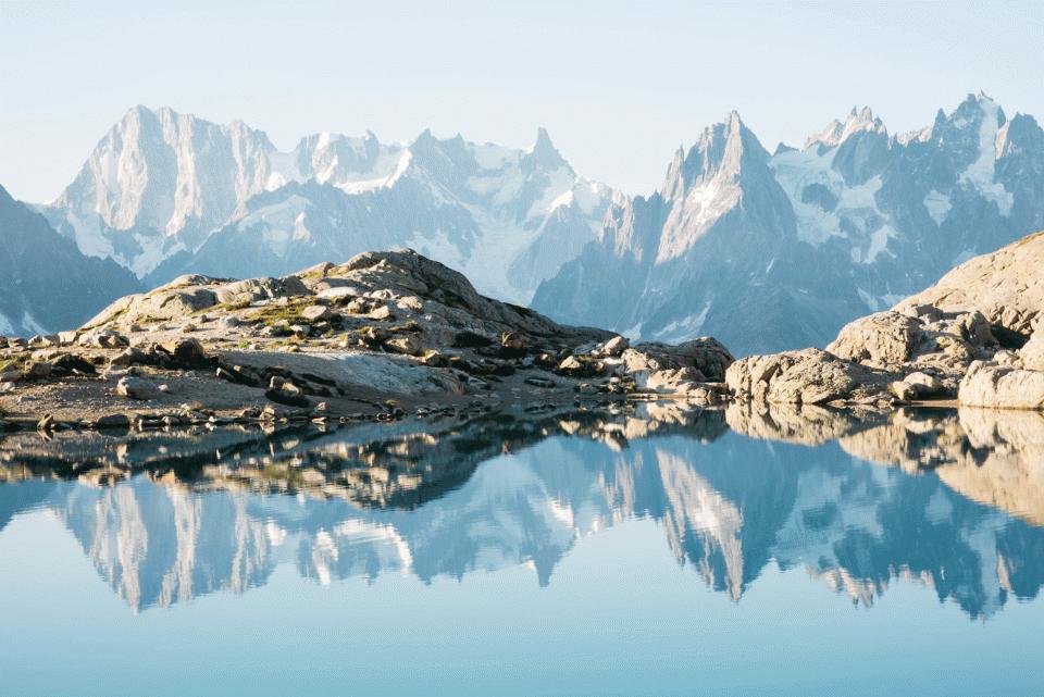 Lac Blanc Chamonix Mont-Blanc
