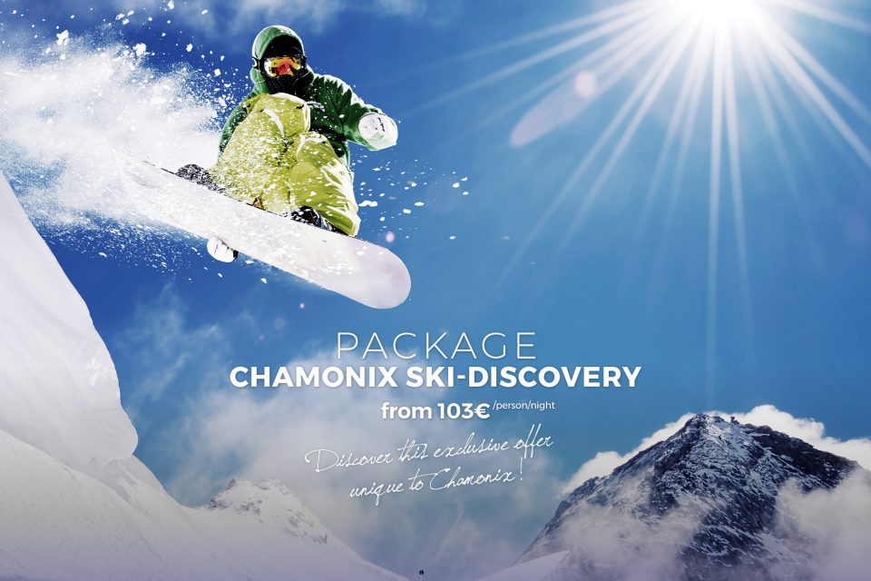 Ski special offer in Chamonix