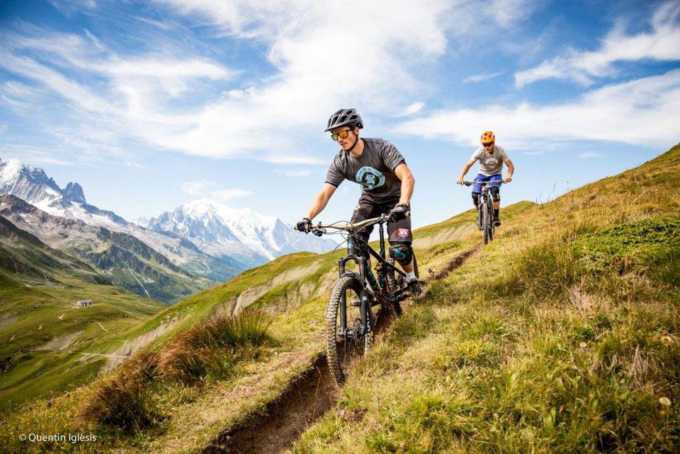 Chamonix bike rides